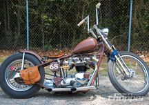 1968 Triumph Bonneville - Getting Down With The Brown