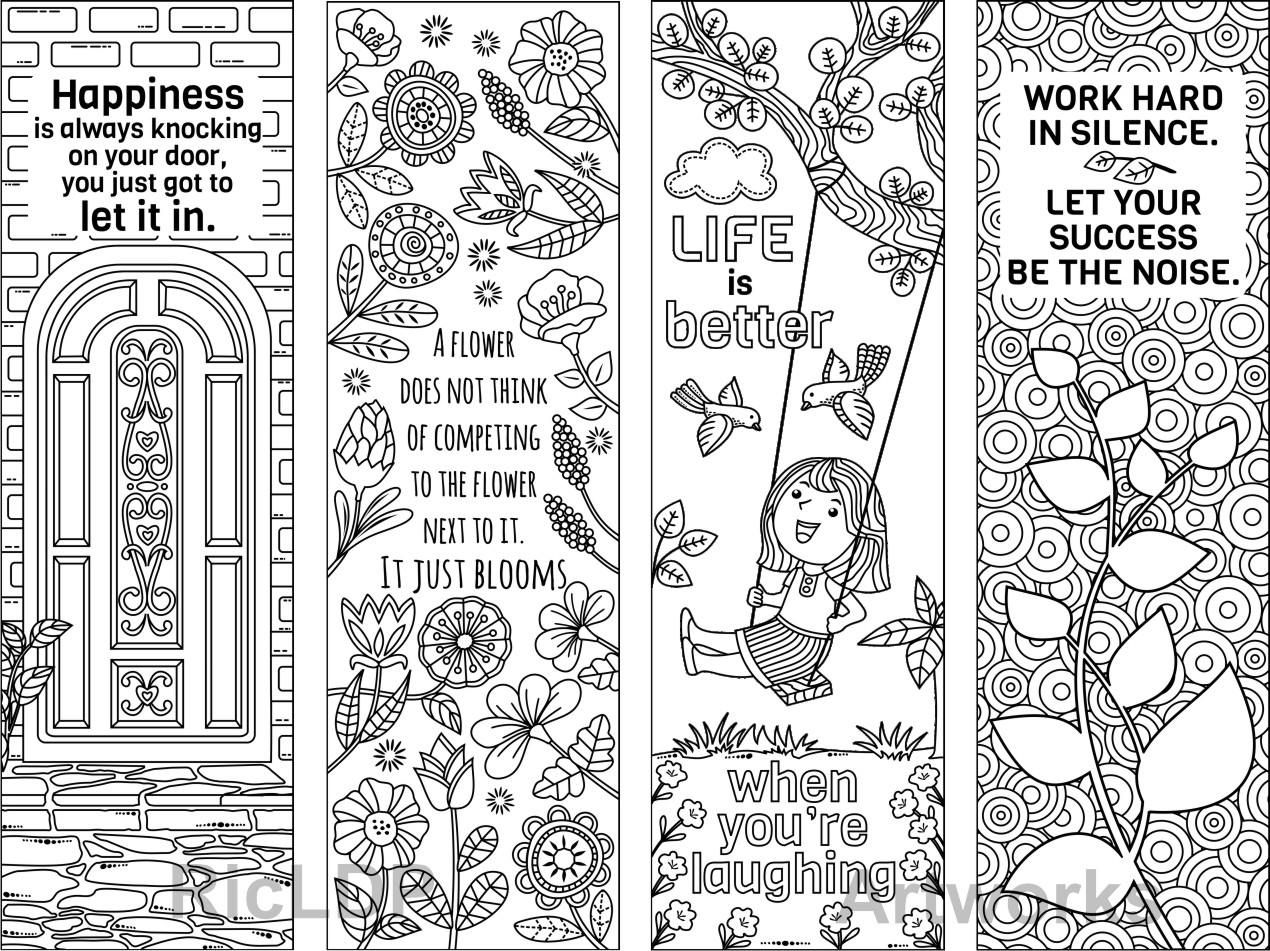 Pin By Highly Favored On Color Me Bookmarks Coloring Bookmarks Coloring Bookmarks Free Bookmarks Kids