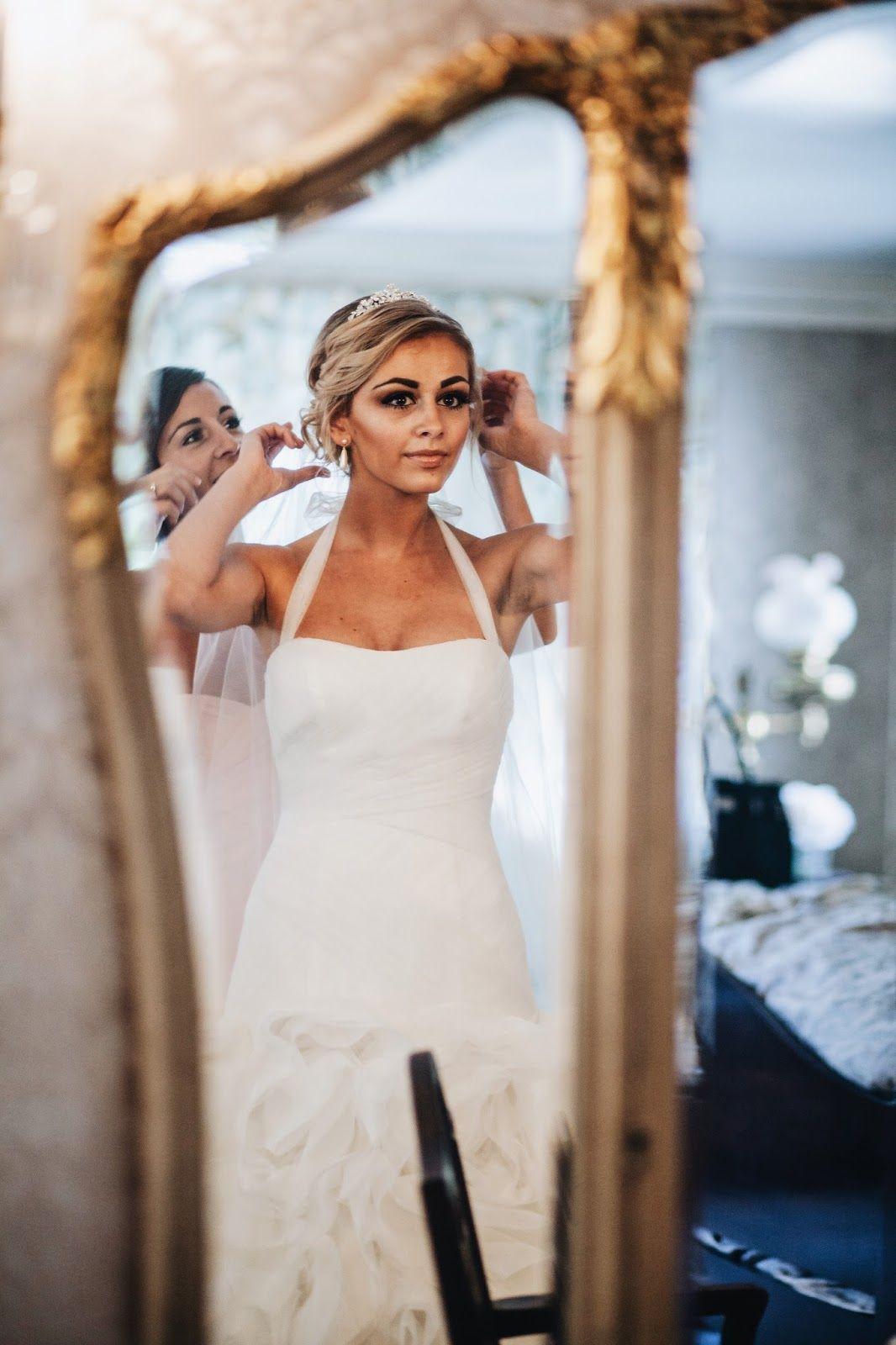 My Wedding Part One. Bride getting ready, My wedding