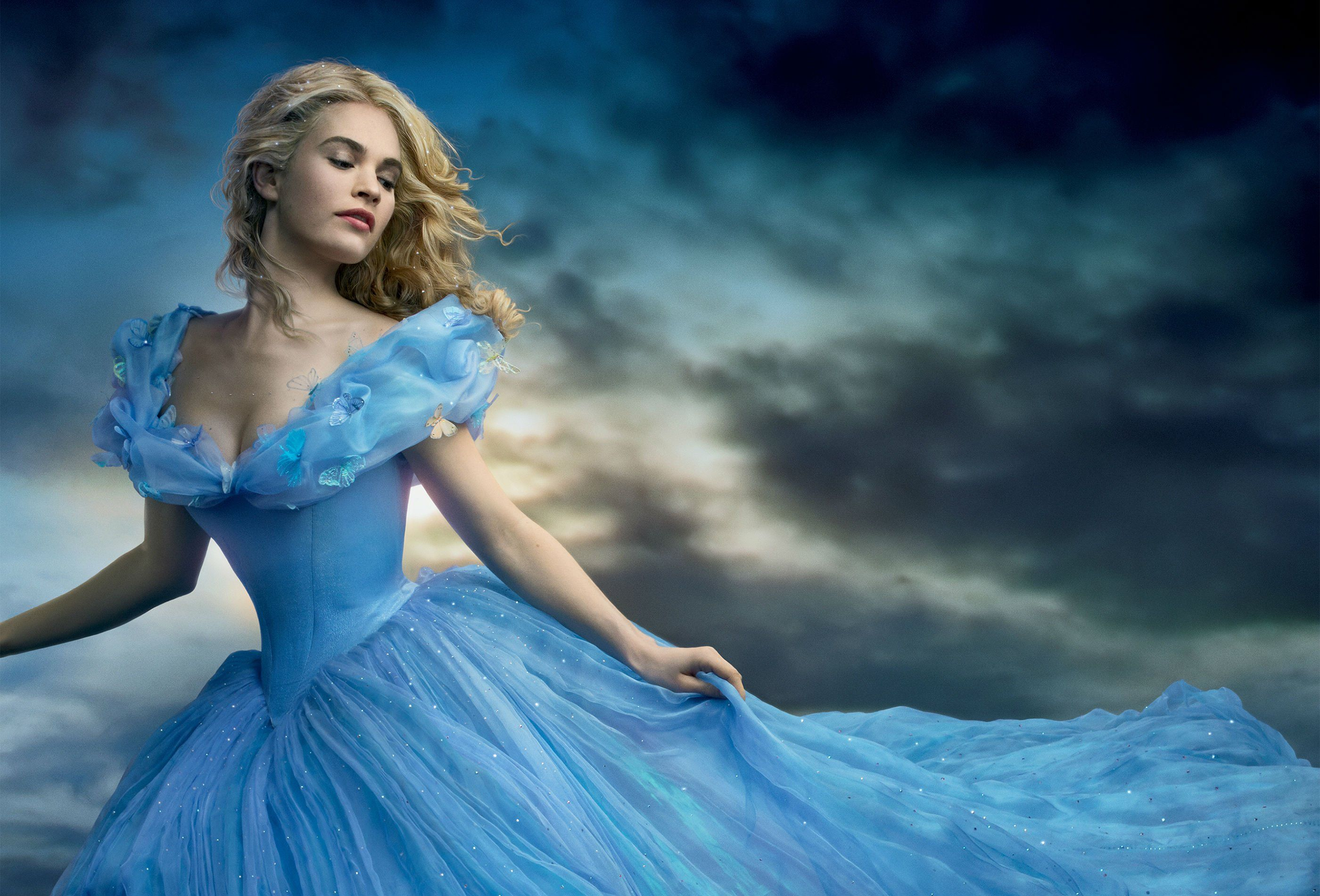 Edgar Wright S Baby Driver Adds Cinderella Star Lily James Cinderella Wallpaper Cinderella 2015 Cinderella