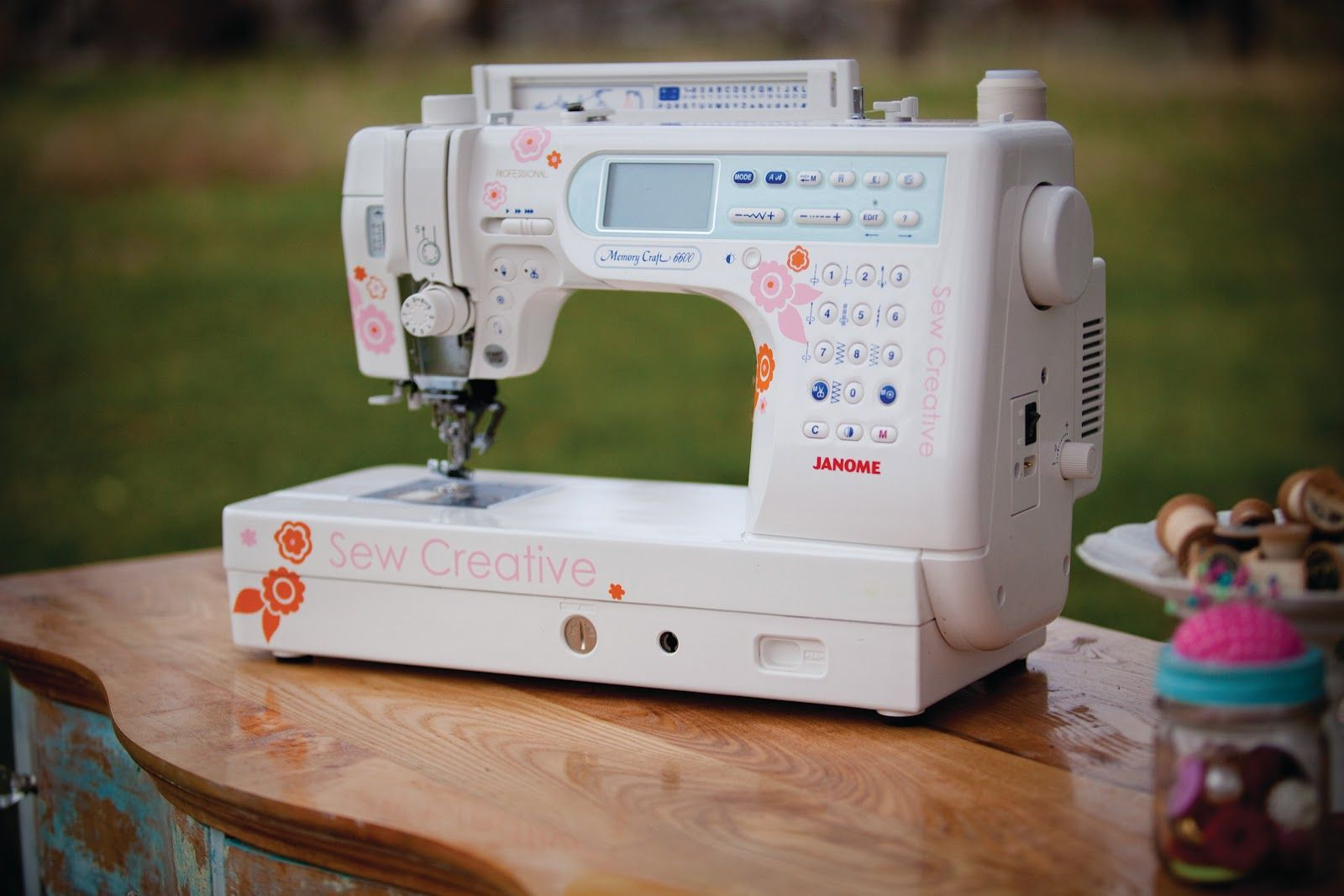 Lilly Belle Embellished Sewing Machine Sewing Janome Quilts