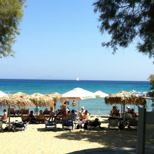 Paros Beaches: Punda Beach Club, Paros, Greece