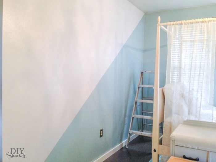 Diy Show Off Interiors Room Wall Painting Kids Room Paint Girl