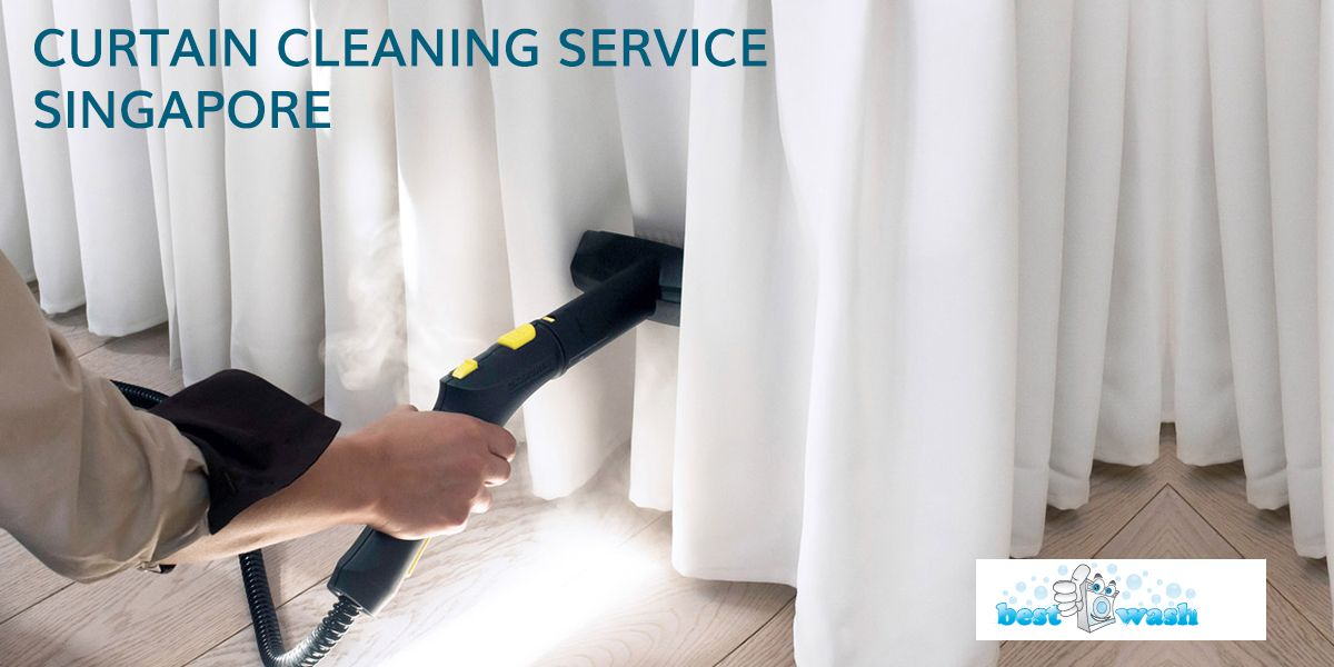 Best Wash Offers Curtain Cleaning Service Singapore We Use