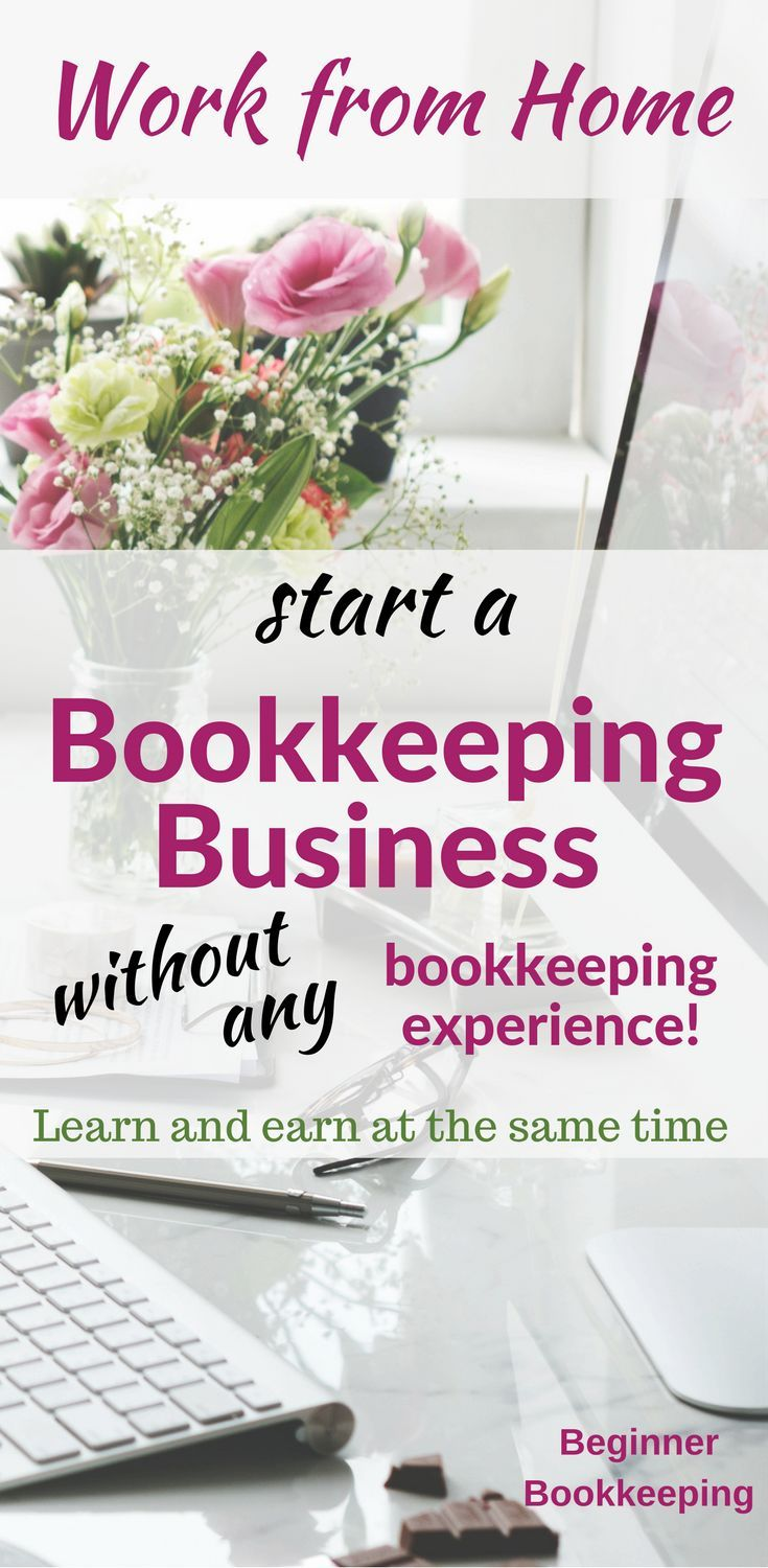 Starting a bookkeeping business no bookkeeping experience required learn how to do bookkeeping and how to start your own bookkeeping business so you can earn money at the same time work for yourself solutioingenieria Image collections