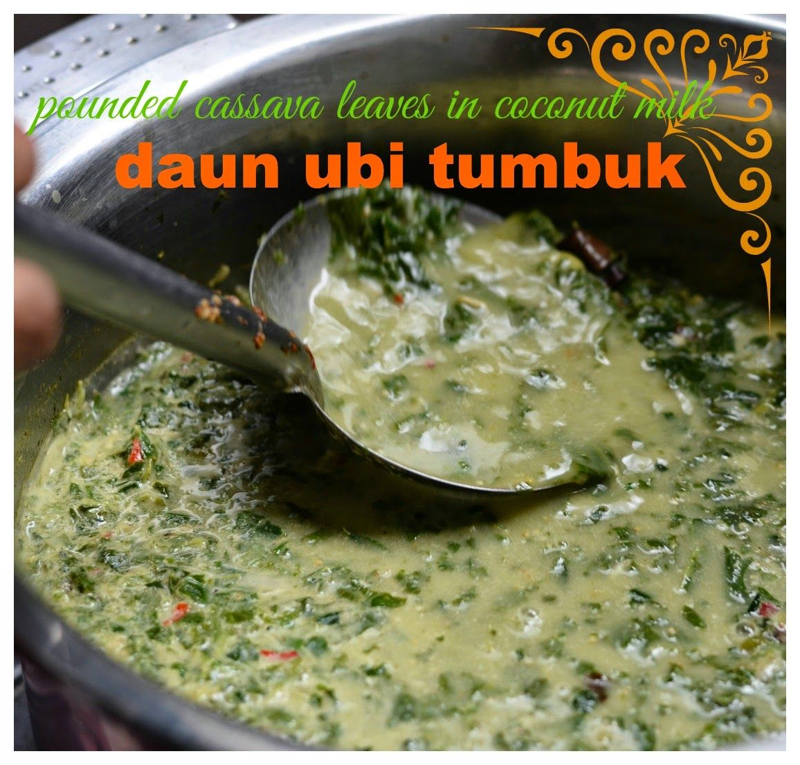 Saya Sudah Pernah Mem Post Resep Daun Ubi Tumbuk Yang Merupakan Masakan Khas Sumatera Utara Sebelumny Resep Masakan Indonesia Masakan Indonesia Resep Masakan