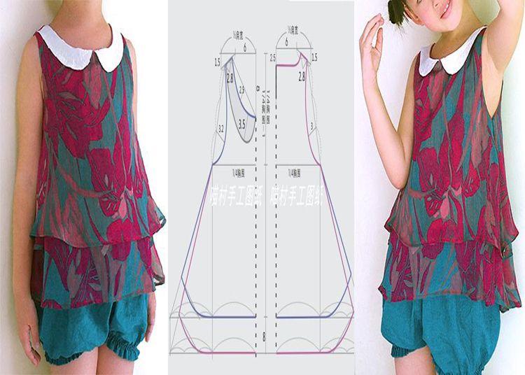 Manualidades Patrones de costura - descargar patrones - curso de co ...