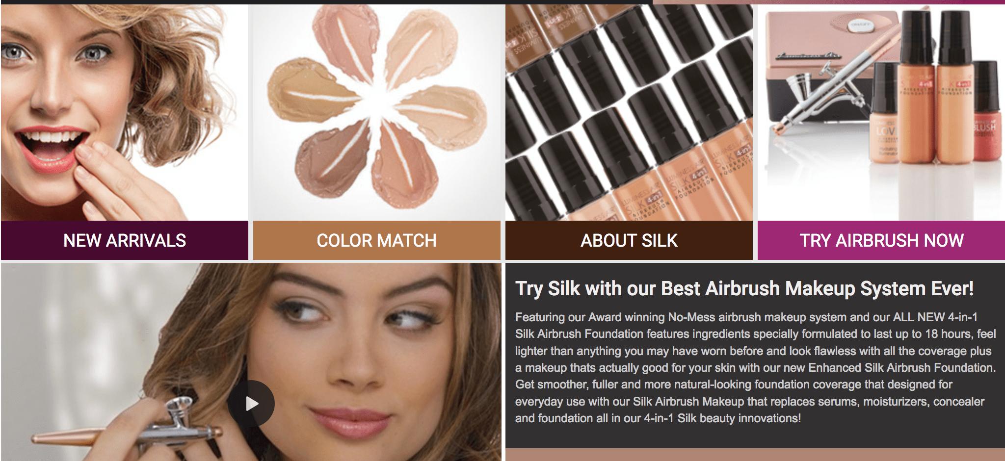 Luminess Air Reviews Airbrush makeup system, Airbrush
