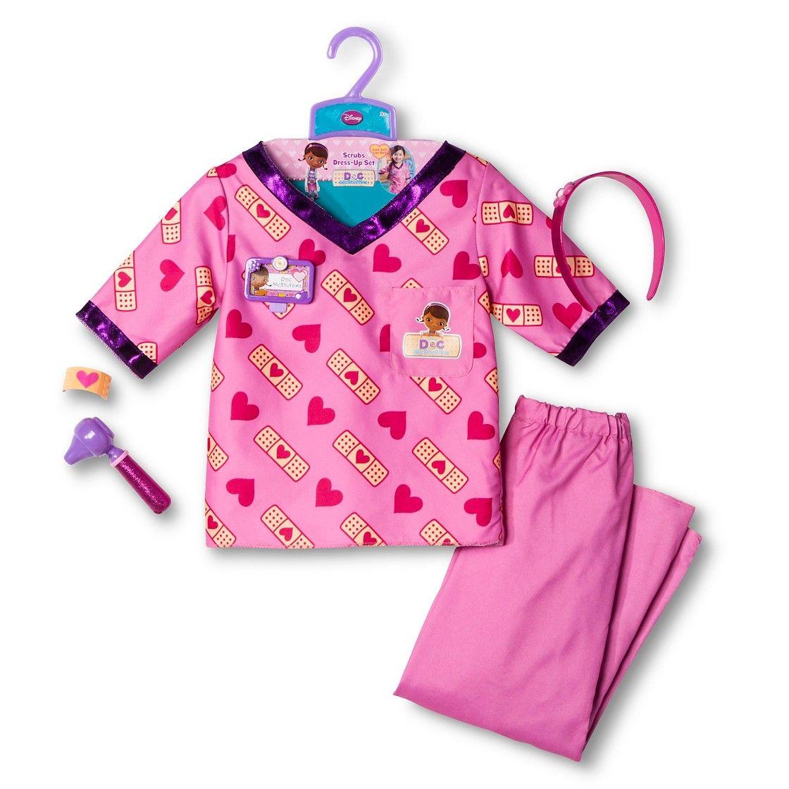 Disney doc mcstuffins scrubs dressup set scrubs dress