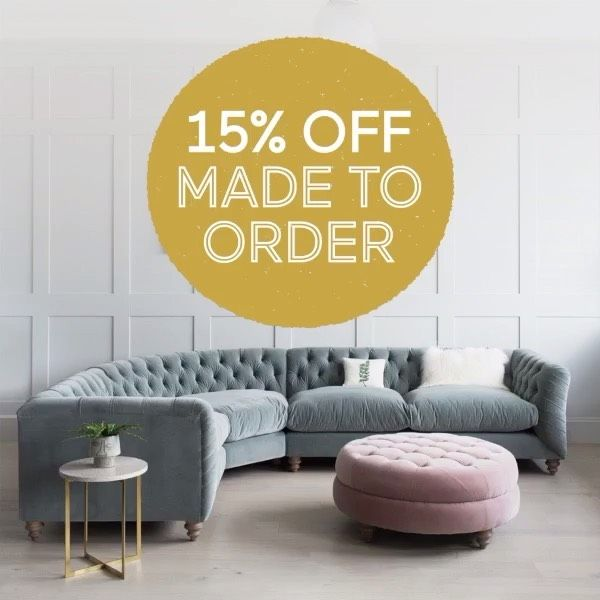 The only thing better than a new sofa is a new sofa with 15% off (and maybe a cuppa). Get 15% off online now - hurry, there's not long left to get your order in in time for Christmas delivery! #newsofa #homedecor #instahomedecor #ighome #interiordecorating #ukinteriors #cornersofmyhome #myhomevibe #instainterior #interiør #interiorlove #interiorismo #homedeco #scandinavianhome #scandiinterior