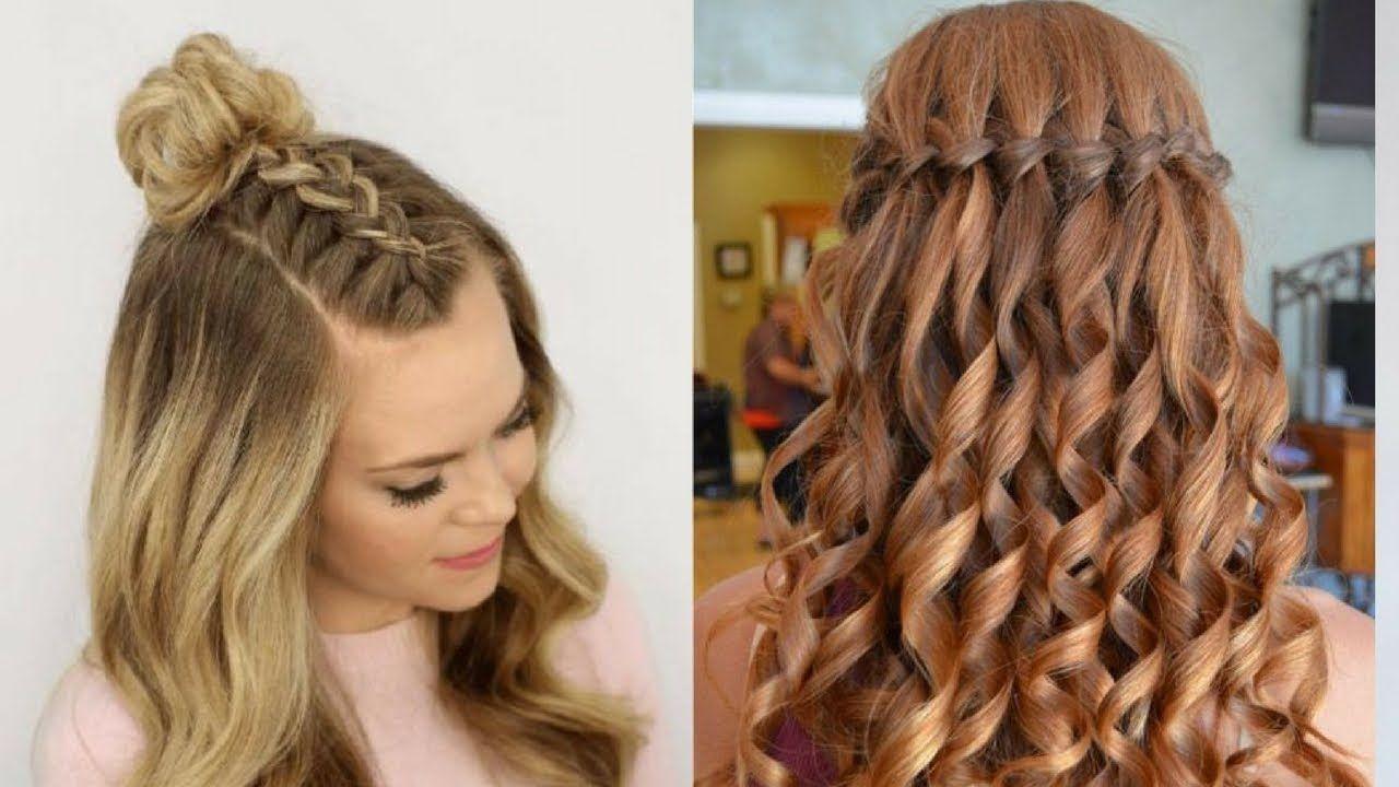 Cute u easy everyday hairstyles quick hair tutorial