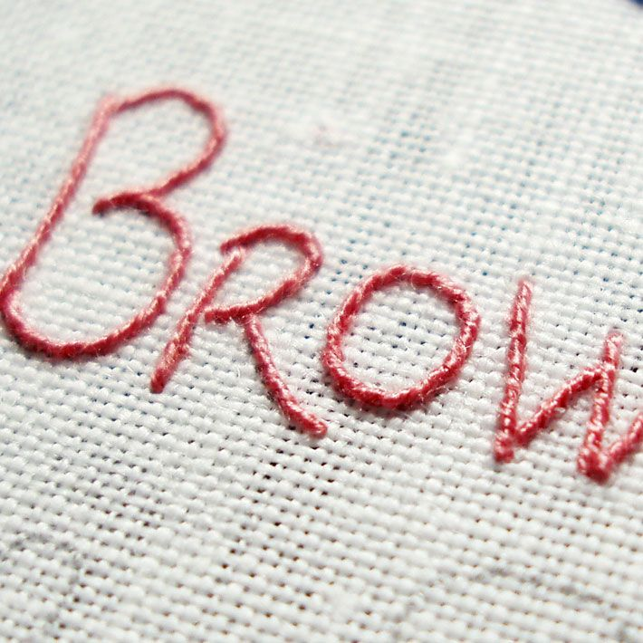 Learn How To Embroider Your Handwriting Embroidery Stitch And