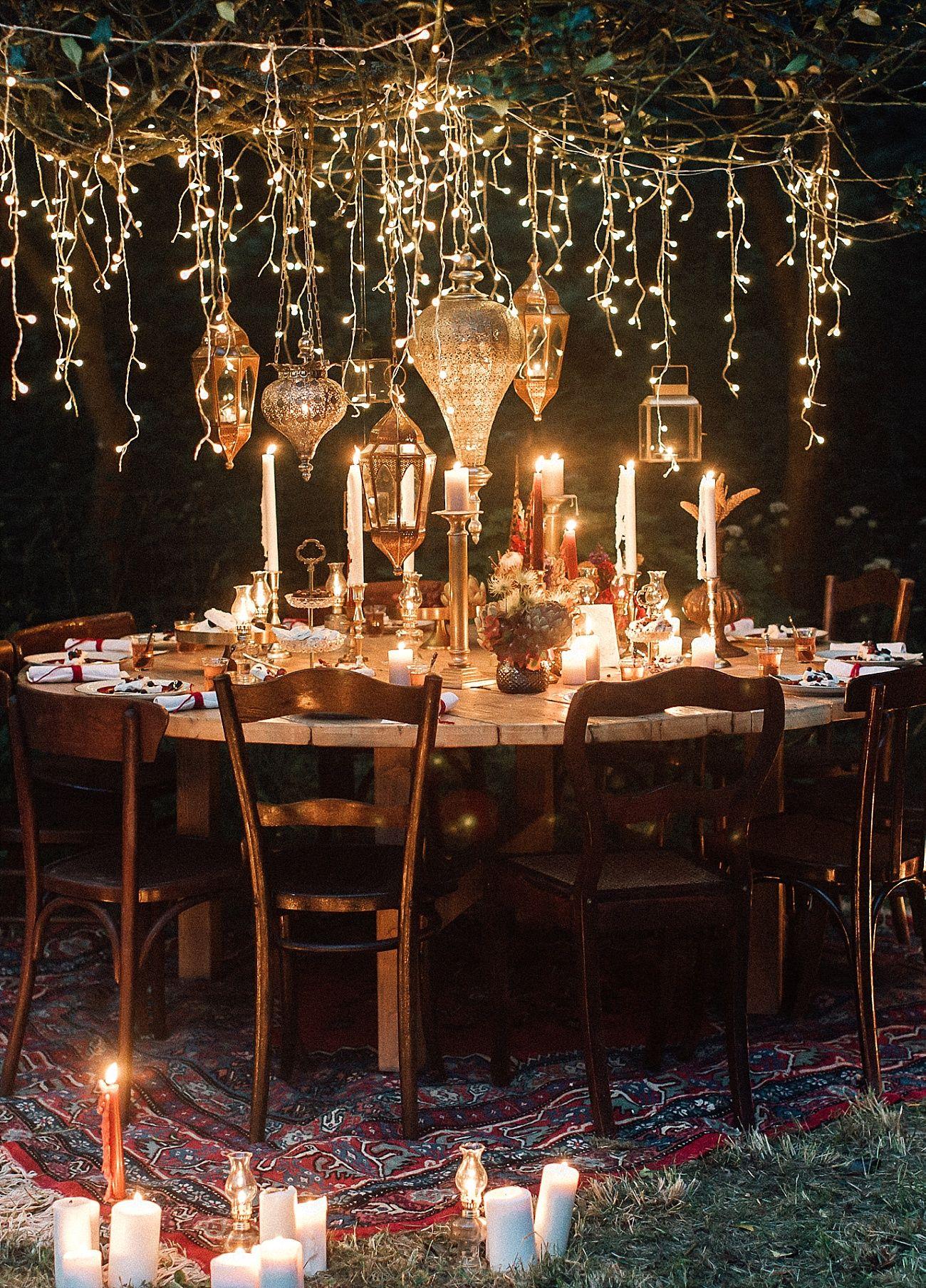Oriental Nights Tischdekoideen Fur Euren Runden Tisch Background