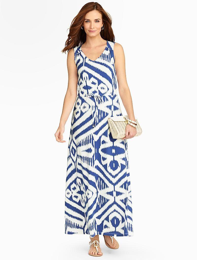 Bold Ikat Maxi Dress Dresses Ikat Maxi Dress Paisley Maxi Dress Gorgeous Dresses [ 1057 x 800 Pixel ]