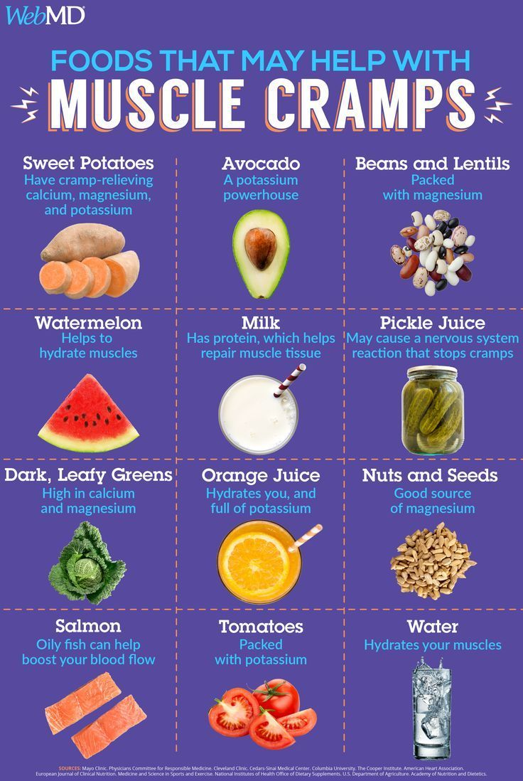 One way to stop cramps is to stretch or massage your muscles and to eat enough of these key nutrient...