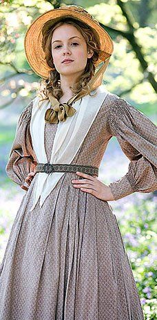 Another one on the to-do list. Sophy Hutton's dress from the movie Cranford.