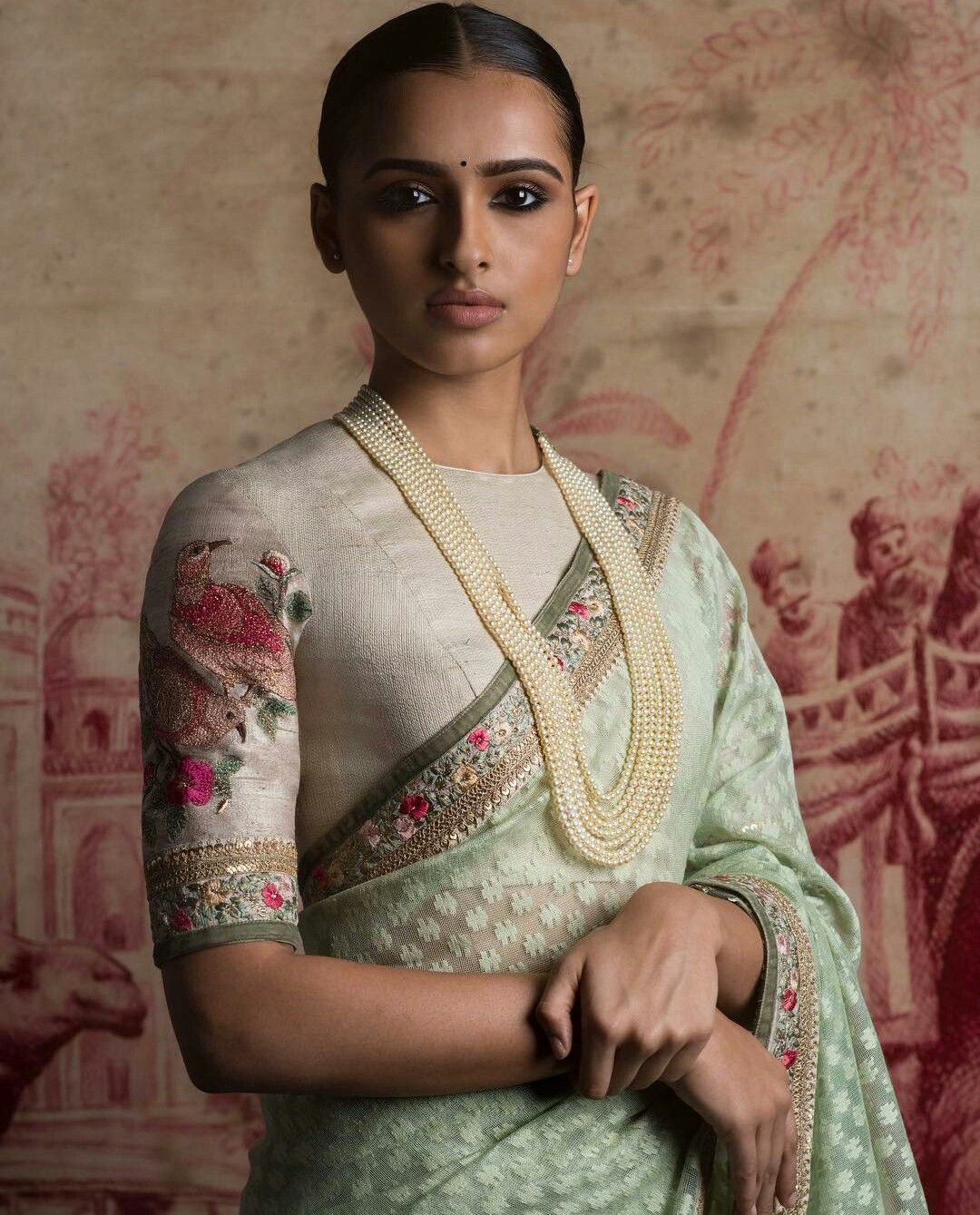 Sabyasachi Mukherjee saree | Saree blouse patterns ...
