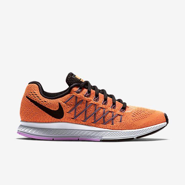 Womens Shoes Nike Air Zoom Pegasus 32 Bright Citrus/Violet Frost/Fuchsia Glow/Black