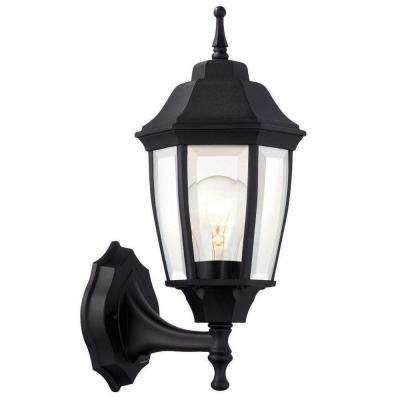 1 light black dusk to dawn outdoor wall lantern sunset pk reno 1 light black dusk to dawn outdoor wall lantern aloadofball Image collections