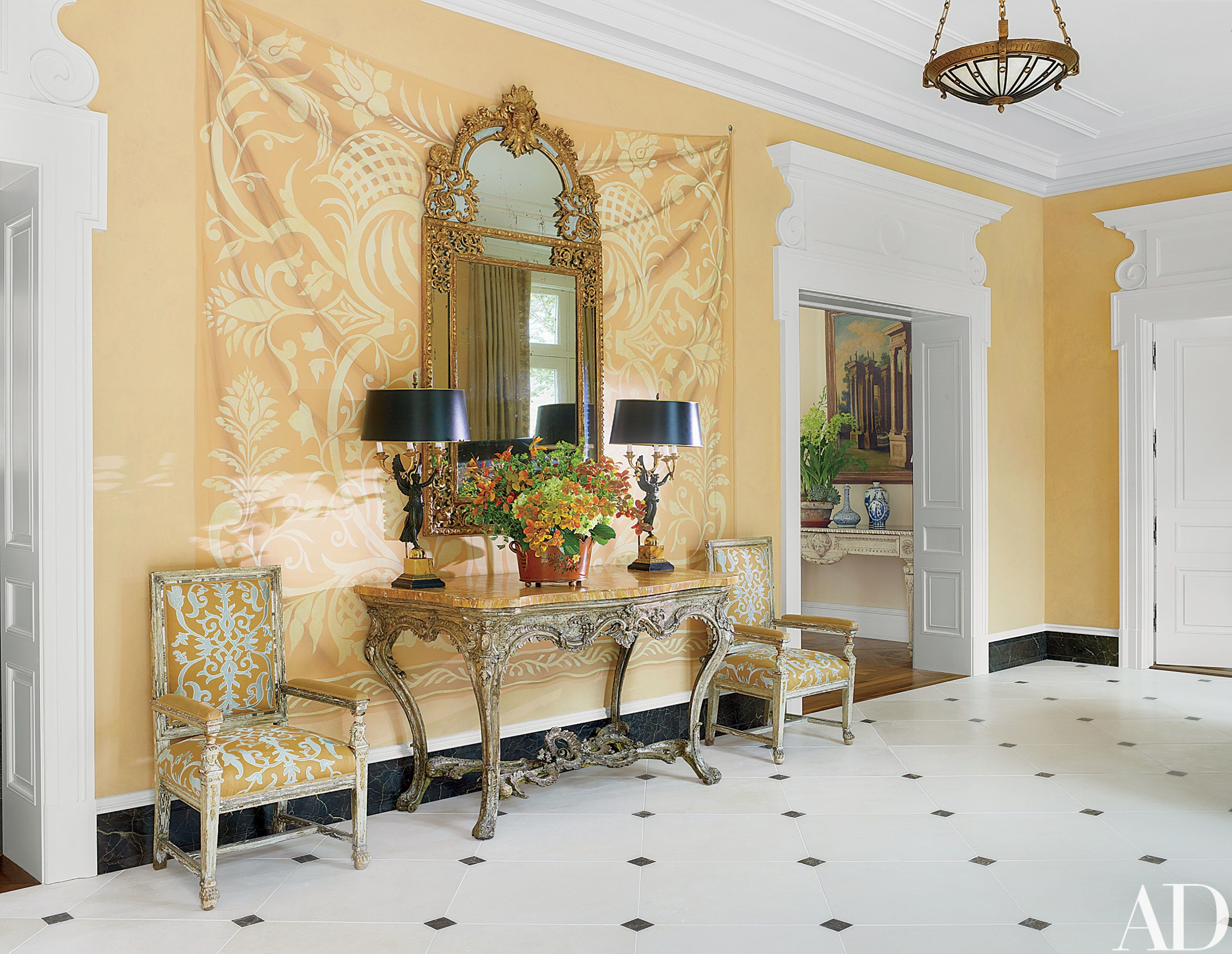 See How Bunny Williams Transformed a 1950s Georgian-Style Home in ...