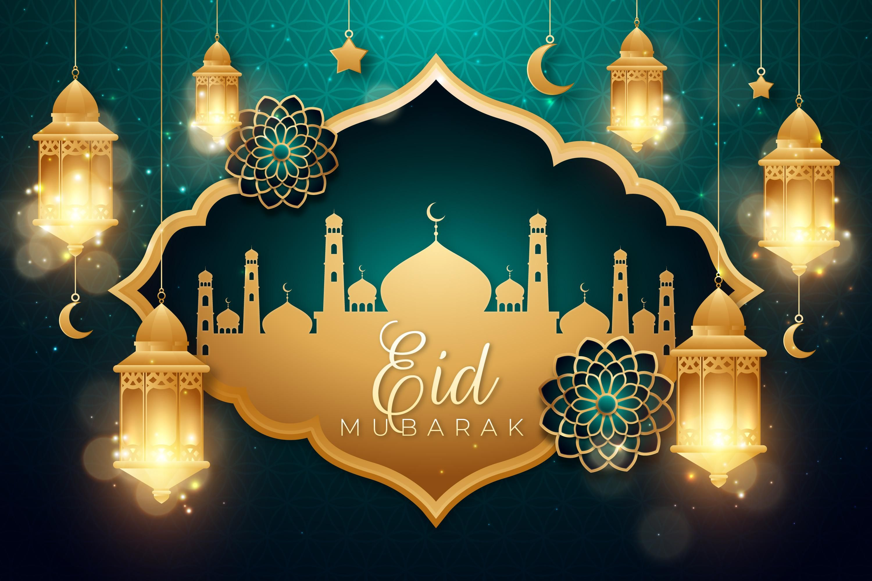 Colorfab Digital Advertising Llc Dubai Uae Eid Mubarak Background Eid Mubarak Greetings Eid Background