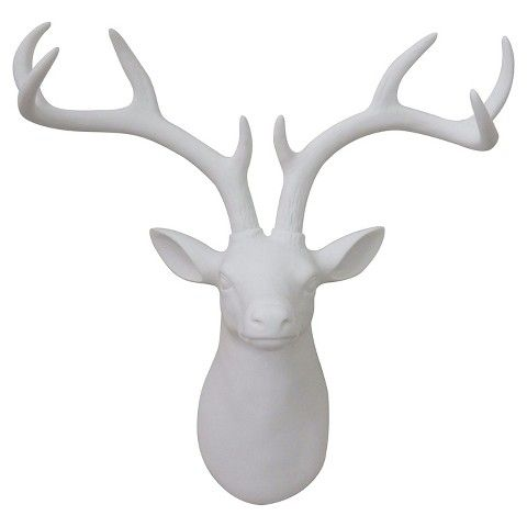 White Deer Head Wall Decor 10 décor ground rules for merging your stuff in one bedroom | wall