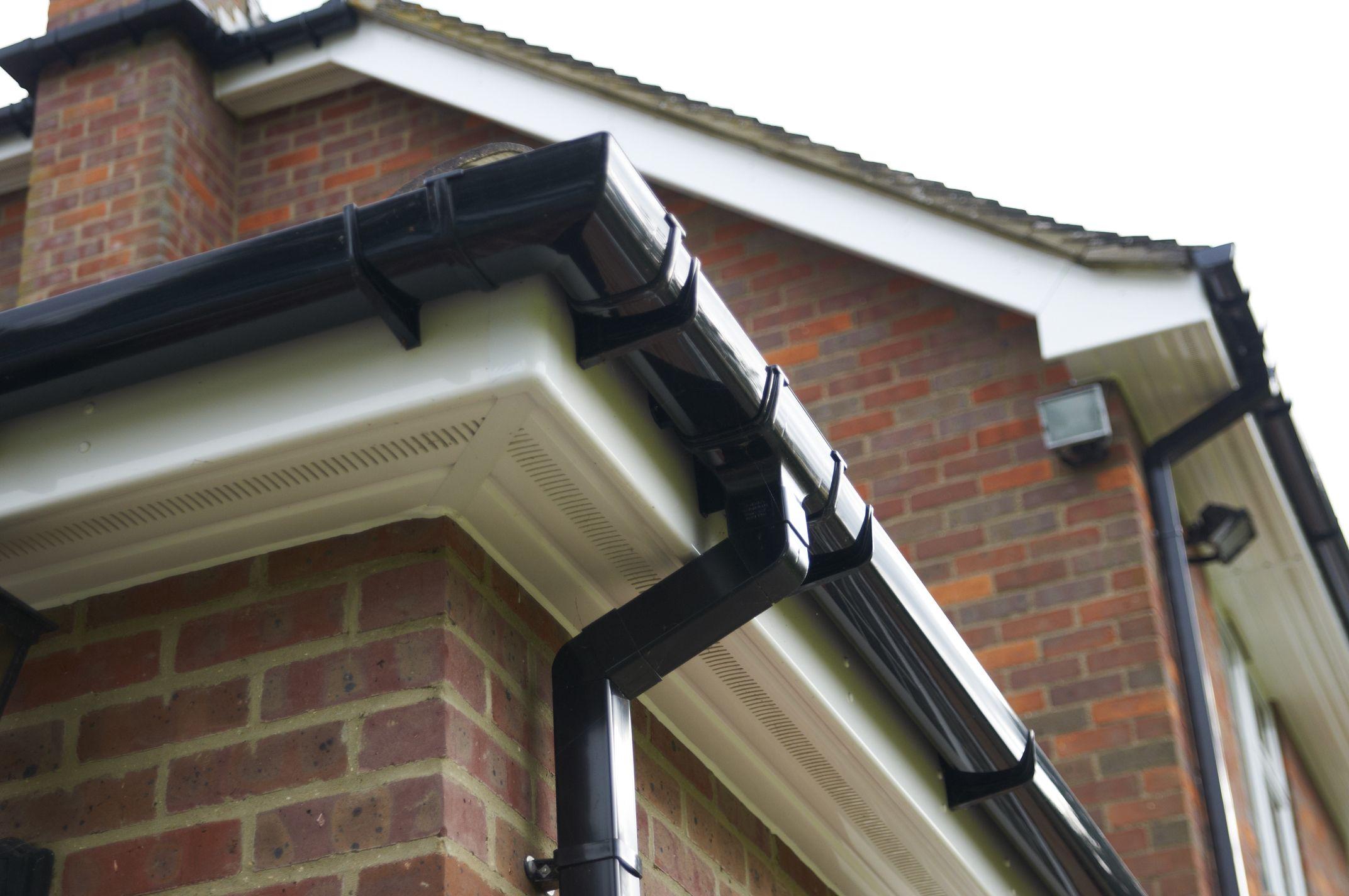 Anglian Roof Trim 25 Off Deep Flow Guttering As Standard Roof Repair Roofing Pvc Gutters
