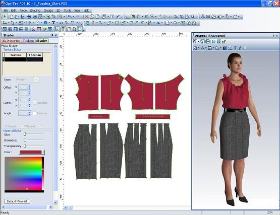 Computer Aided Drafting And Design Cadd In Textile Fashion Design Software Clothes Design Fashion Inspiration Design