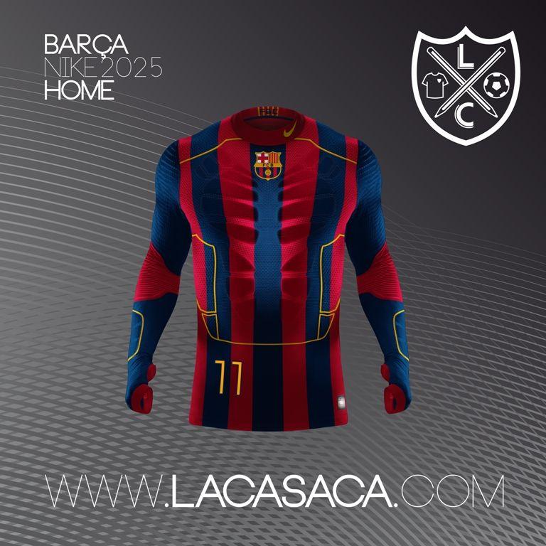 Nike 2025 Fantasy Kits - Barça Home  9d01cd2325f