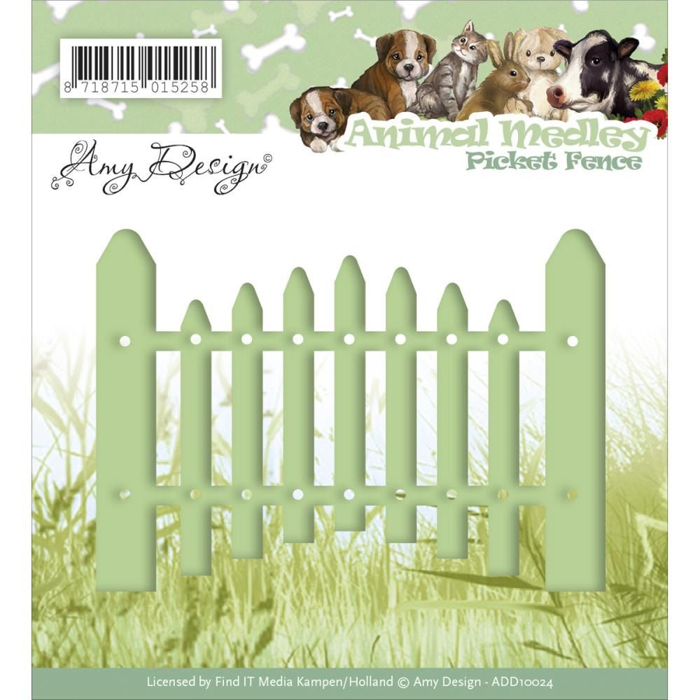 Find It Trading - Amy Design - Picket Fence by PNWCrafts on Etsy