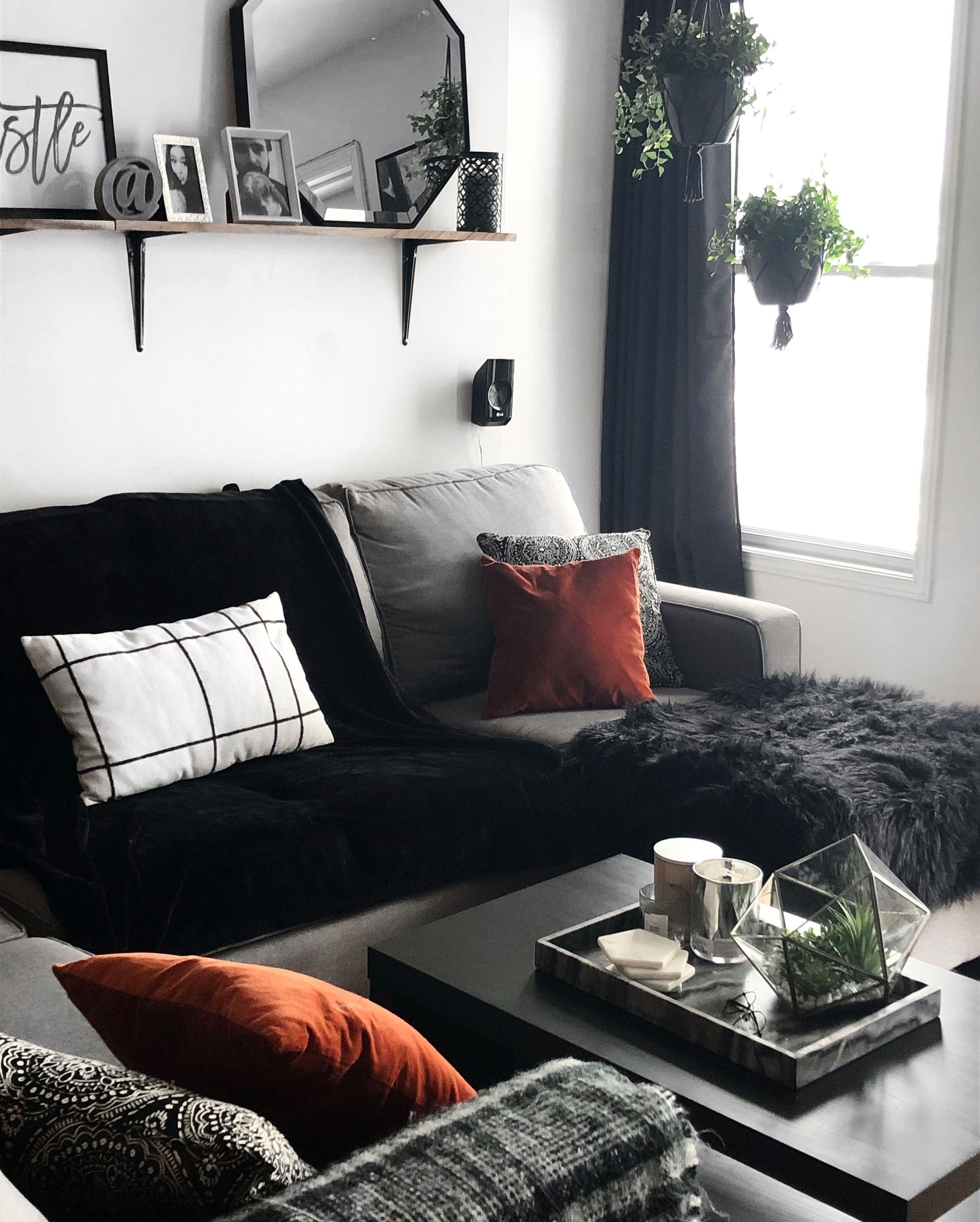 Boho Meet Modern On A Budjet Living Room Macramé Easy Student Dream Apartment Cribs