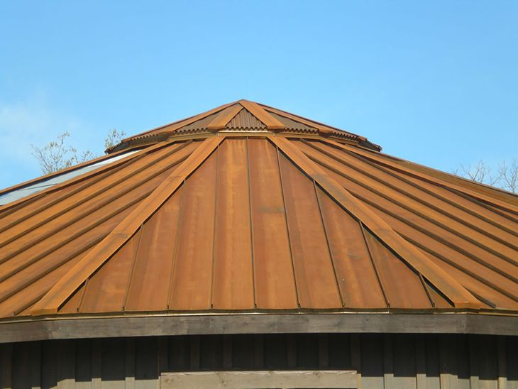 Ss675 Standing Seam Without Battens A606 4 Finish Standing Seam Standing Seam Roof Roofing