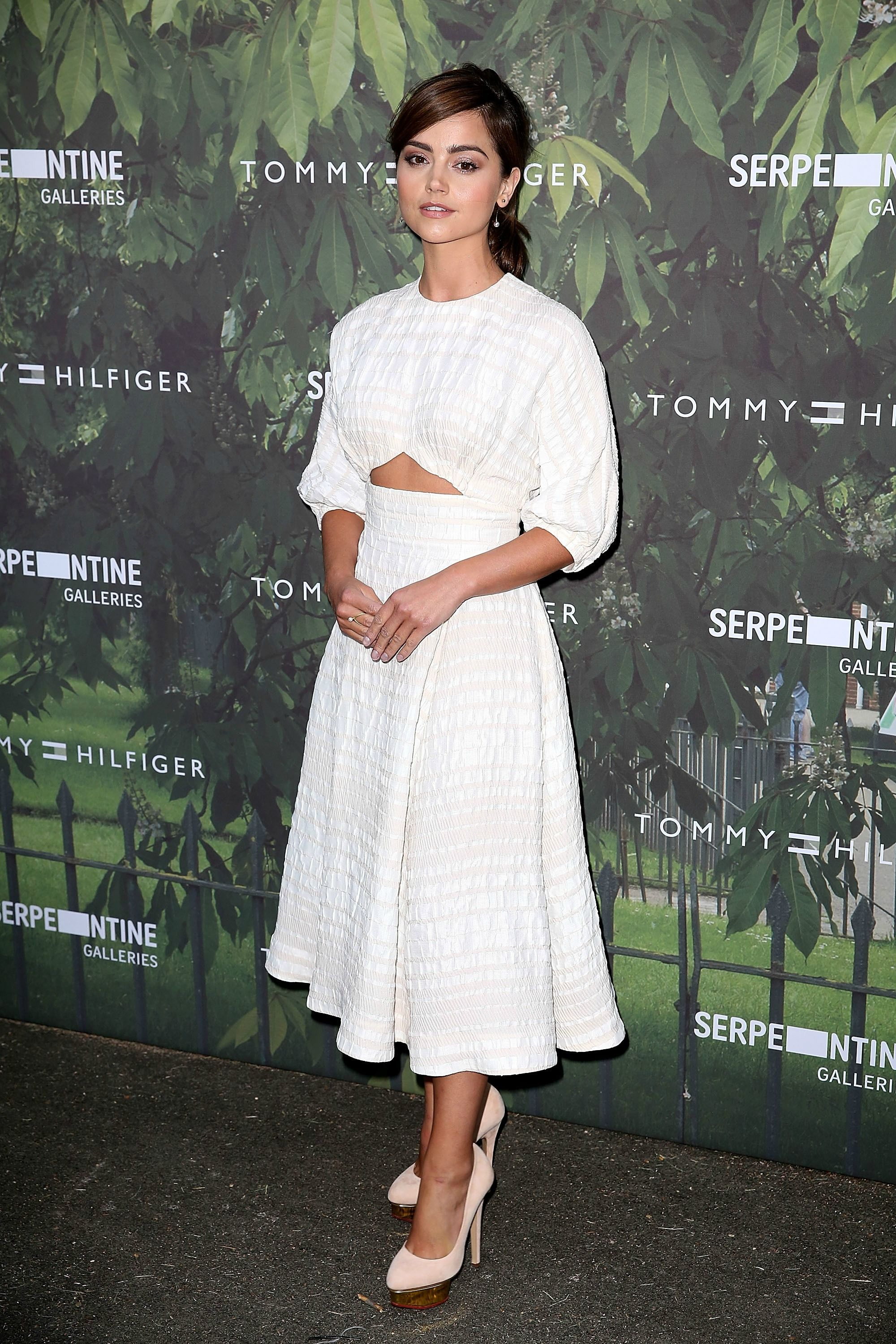 Jenna Coleman - Serpentine Summer Party 2016 - July 6, 2016
