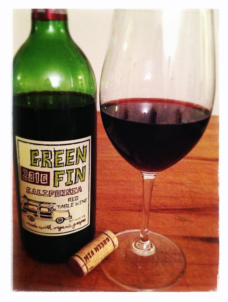 Wine Wednesday Green Fin 2010 Red Table Wine Wine Red Table Wine Wednesday