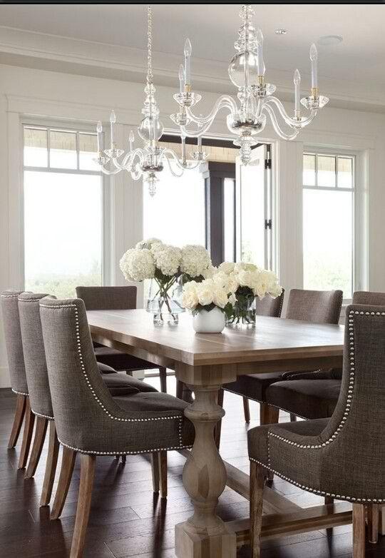 Classy Home Decor Ideas For Dining Room Comedores, Sillas y Decoración