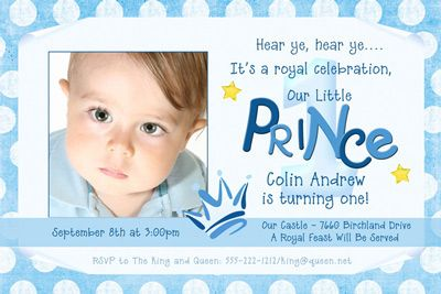 Nice 1st Birthday Invitation Wording