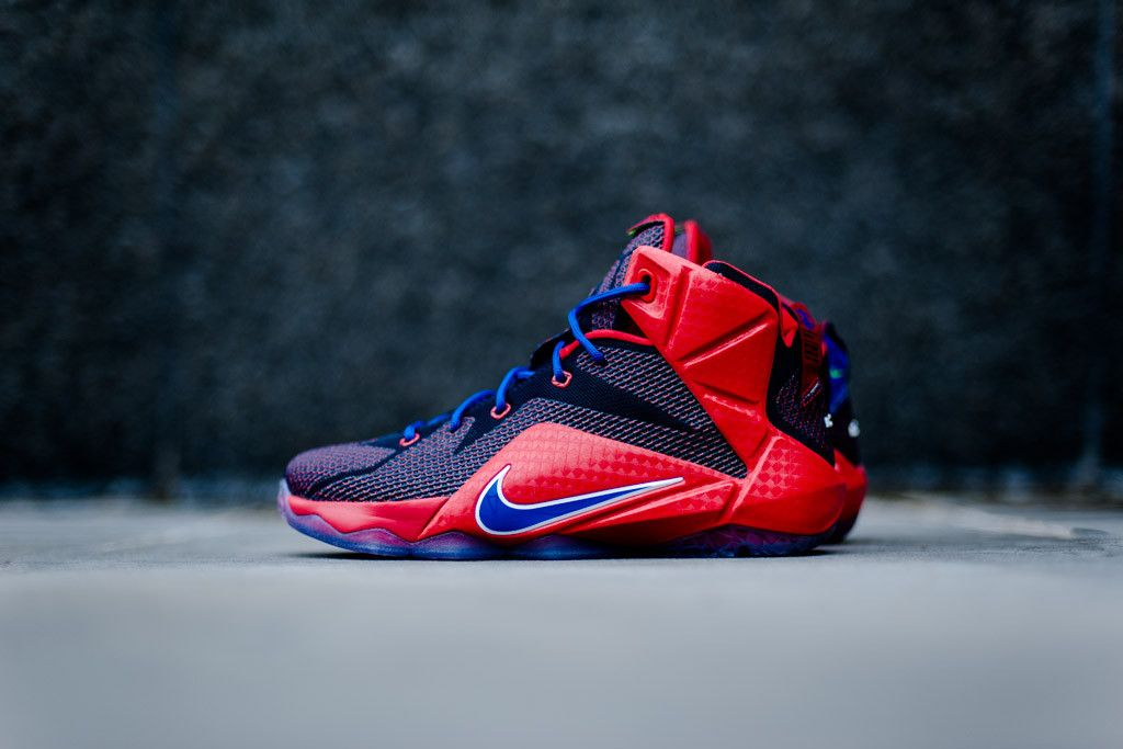 new products ef8d6 513a7 ... low cost the nike lebron 12 gs superman is set to release this week.  the ...