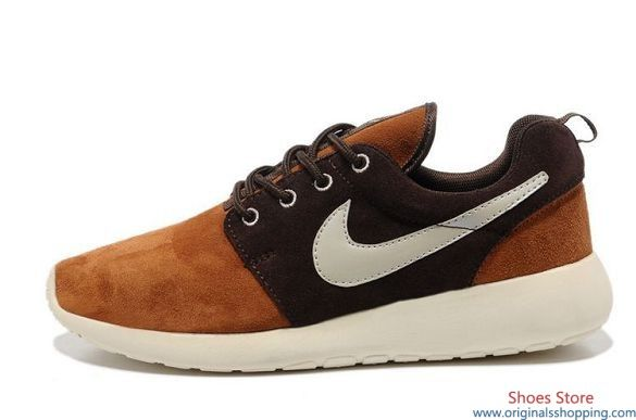 511881-025 Nike Roshe Run Hazel Color - Oxford Brown Men