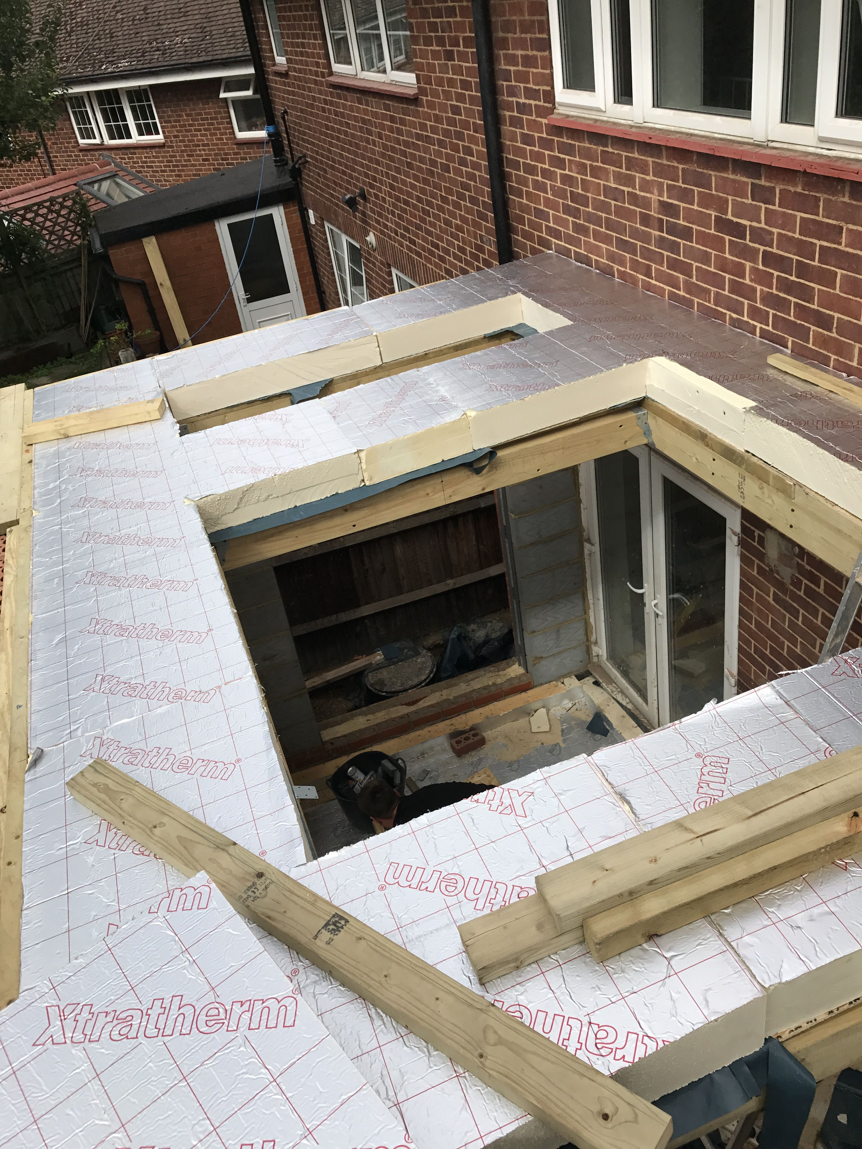 Pin By Nb Exquisite Designs On Fiberglass Roof With Images House Extension Design Fibreglass Roof Flat Roof Extension