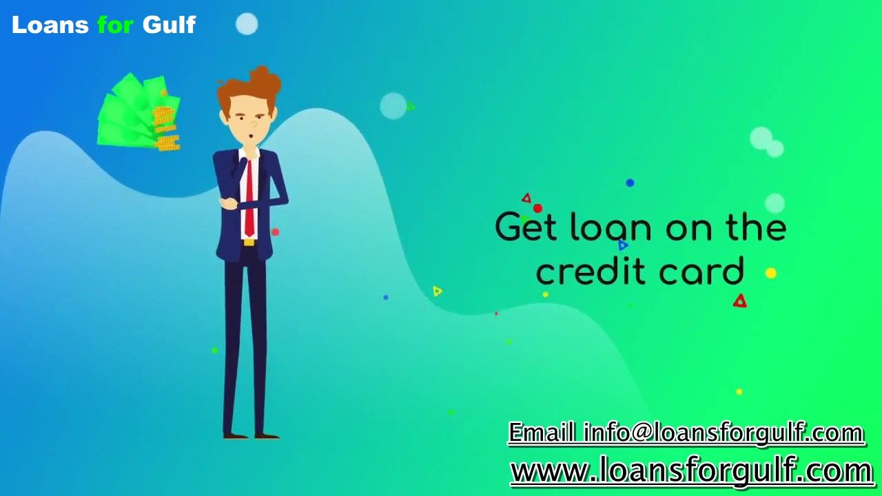 Get Loan On Credit Card Loan Credit Card Dubai