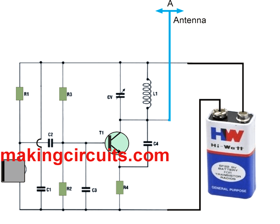 small fm transmitter circuit projects to try circuit projectssmall fm transmitter circuit