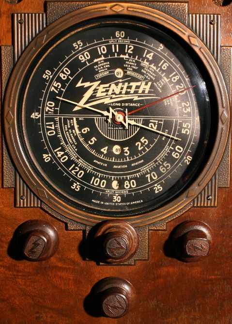 1920 S Zenith Radio Dial Zenith 9 S 30 Dial Views Cool