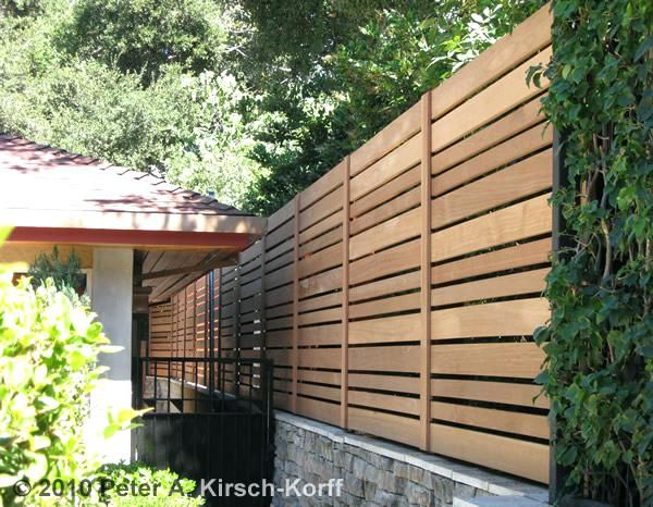 Interior Modern Privacy Fence Deck Elegant Extraordinay 11