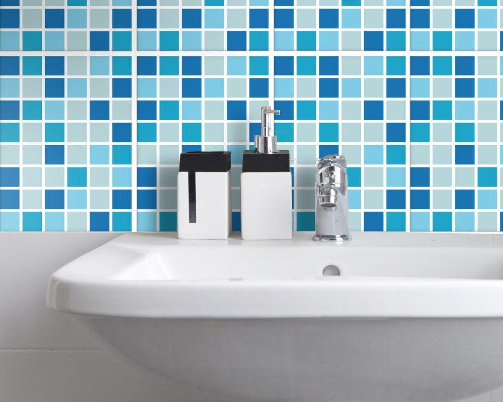 Fliesenaufkleber Fur Badezimmer Und Kuche Mosaik Fliesenaufkleber Fliesenaufkleber Mosaik Kuche Mosaik