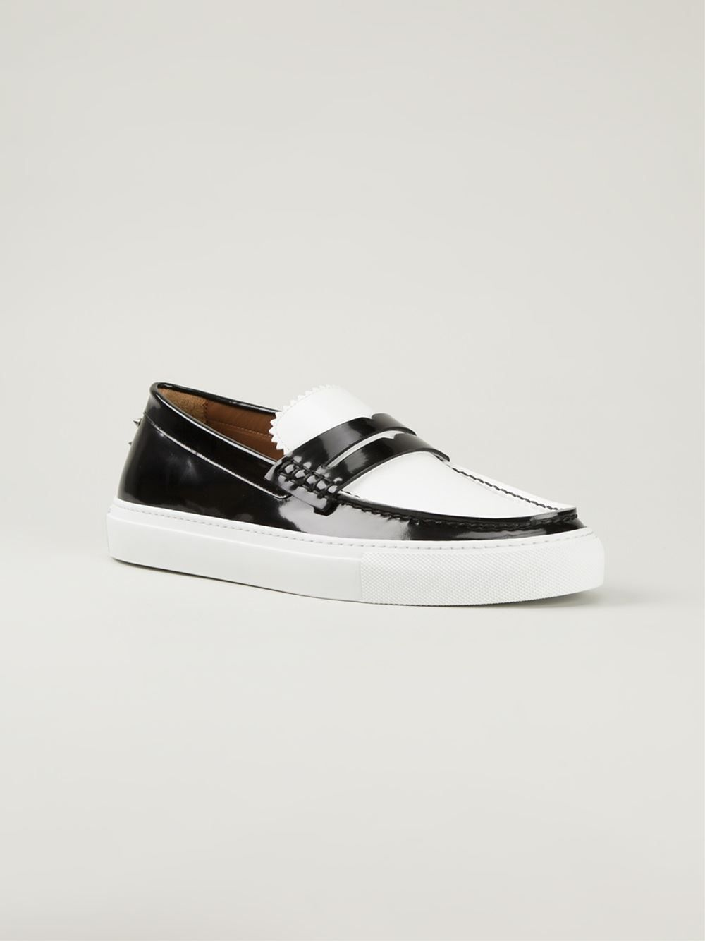 4e1a49c34a2 Givenchy Loafer In Kontrastfarben - O  - Farfetch.com
