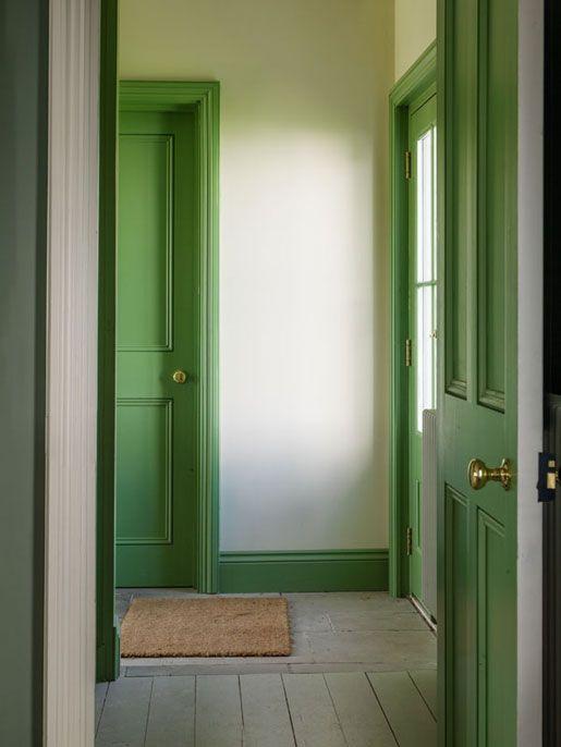 Coed Darcy Green Door Doors Interior Green Interiors