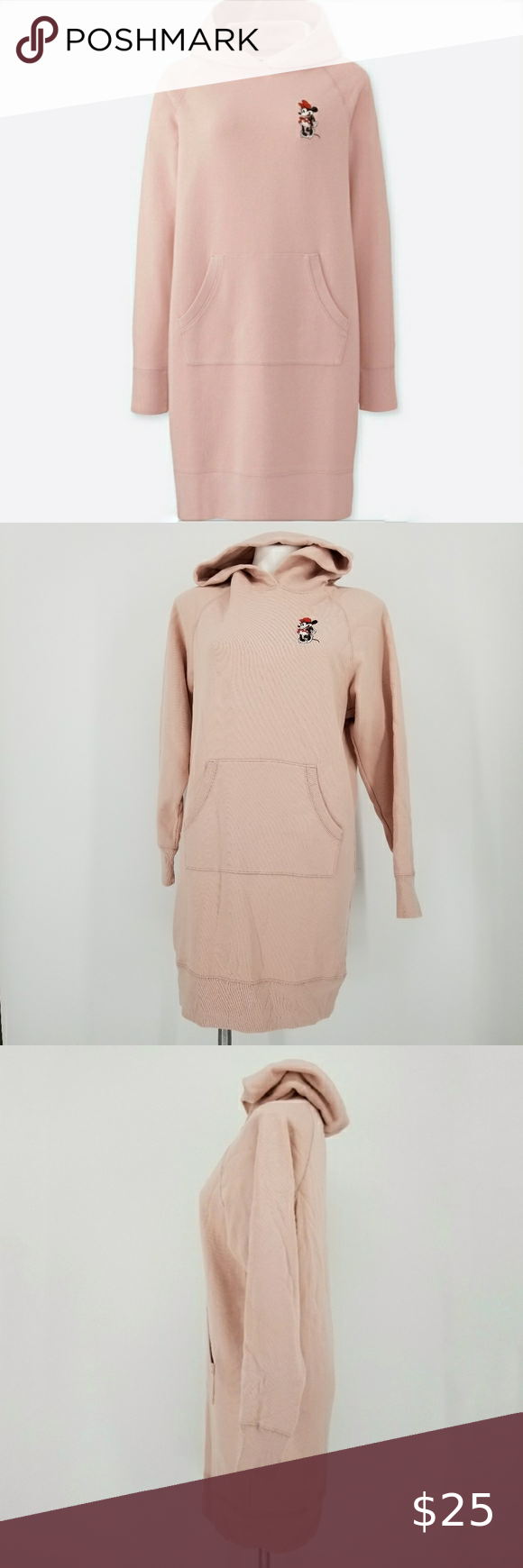 Nwt Uniqlo Disney Mikey Stands Hoodie Dress Hoodie Dress Uniqlo Dresses Clothes Design [ 1740 x 580 Pixel ]