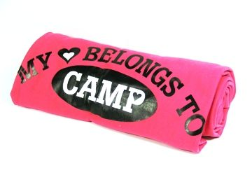 This Hot Pink Sweatshirt Blanket Will Keep Your Camper
