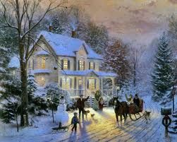 Thomas Kinkade - (Who doesn't want to live there)