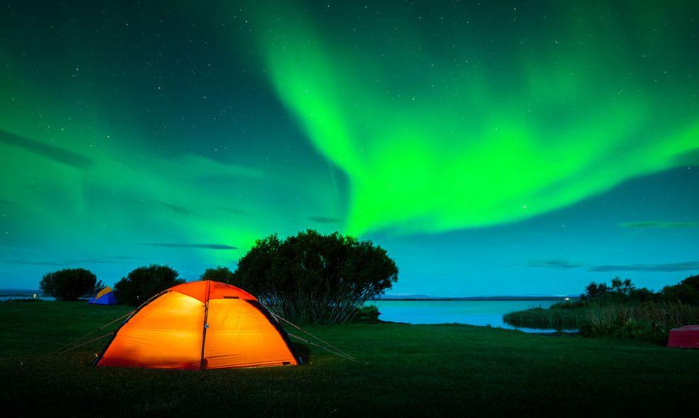 La aurora boreal,uno de los espectáculos más bellos que nos ofrece la naturaleza. ¡Qué maravilla!